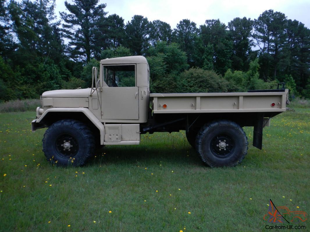 1971 Kaiser M35A2 bobbed 2 5 ton truck with Hard Top - Desert Tan - Power  Steer