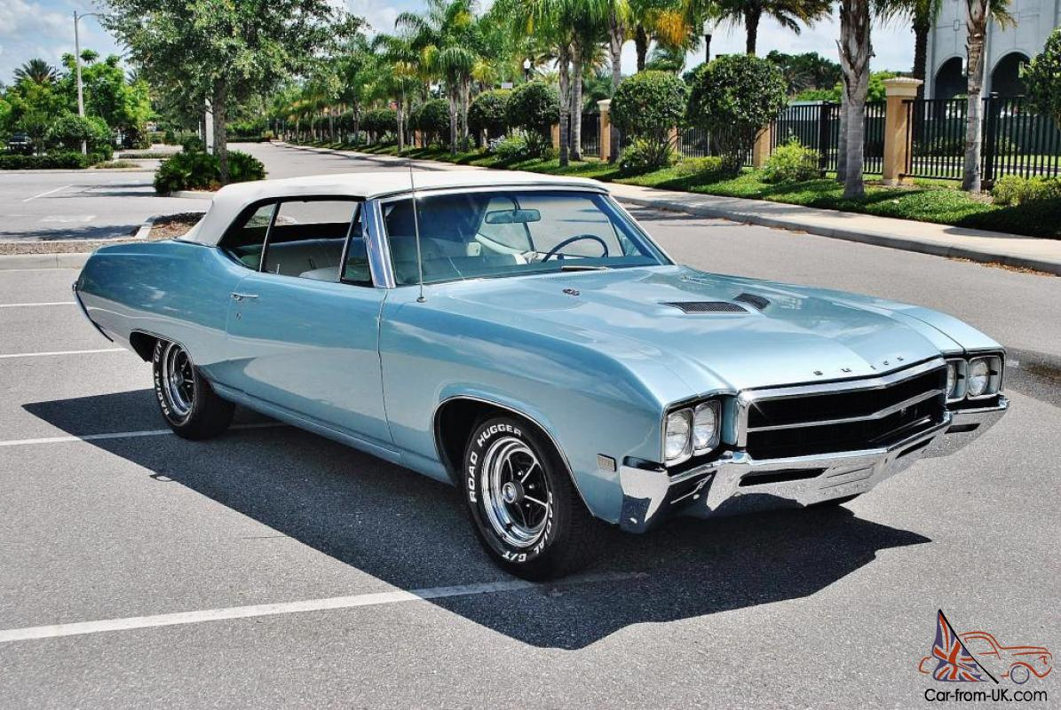 Beautiful 1968 Buick Skylark GS Convertible 400 v-8 auto a ...