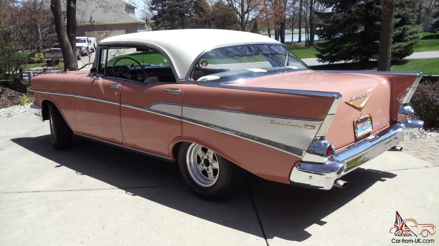 All Chevy 1957 chevy belair 4 door : 1957 Chevy Chevrolet Belair 210 / 4 Door Hard Top/ VIN VC57N224620