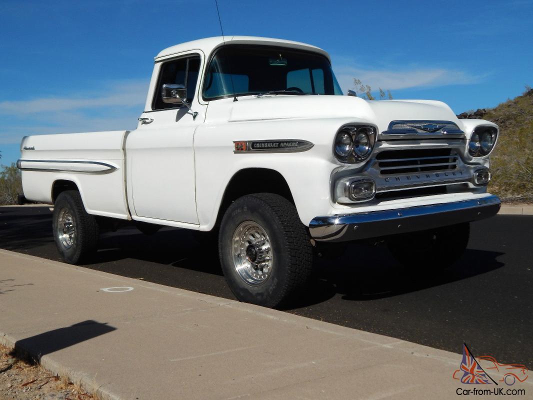 1959 Chevy Apache Fleetside Truck 4x4