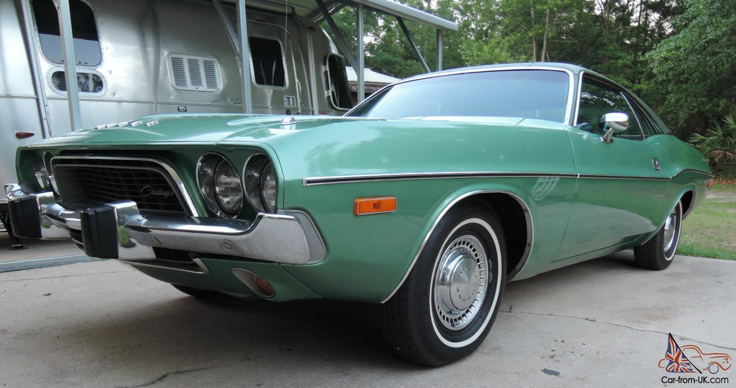 1974 Dodge Challenger Original Matching Numbers Frosty ...