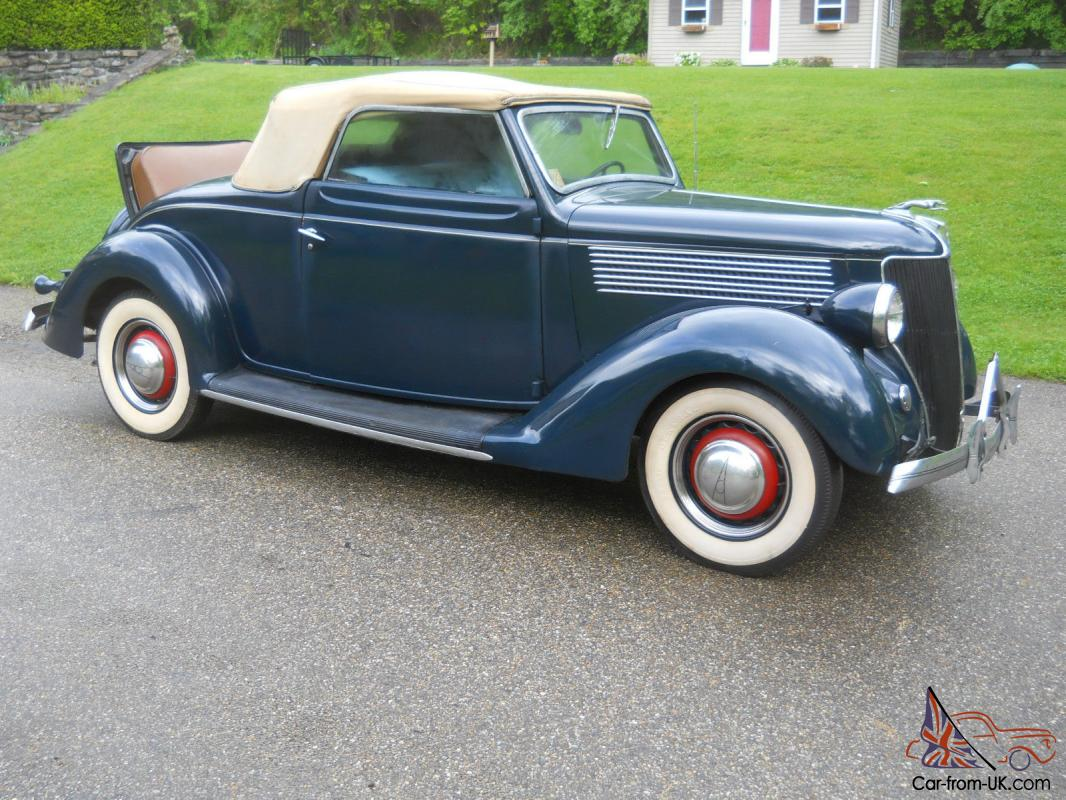 1936 Ford Cabriolet Deluxe With Rumble Seat All Henry