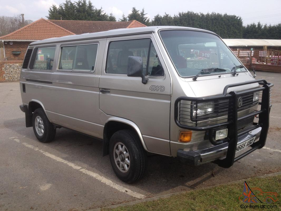 VW T25 Syncro Caravelle GL 1990