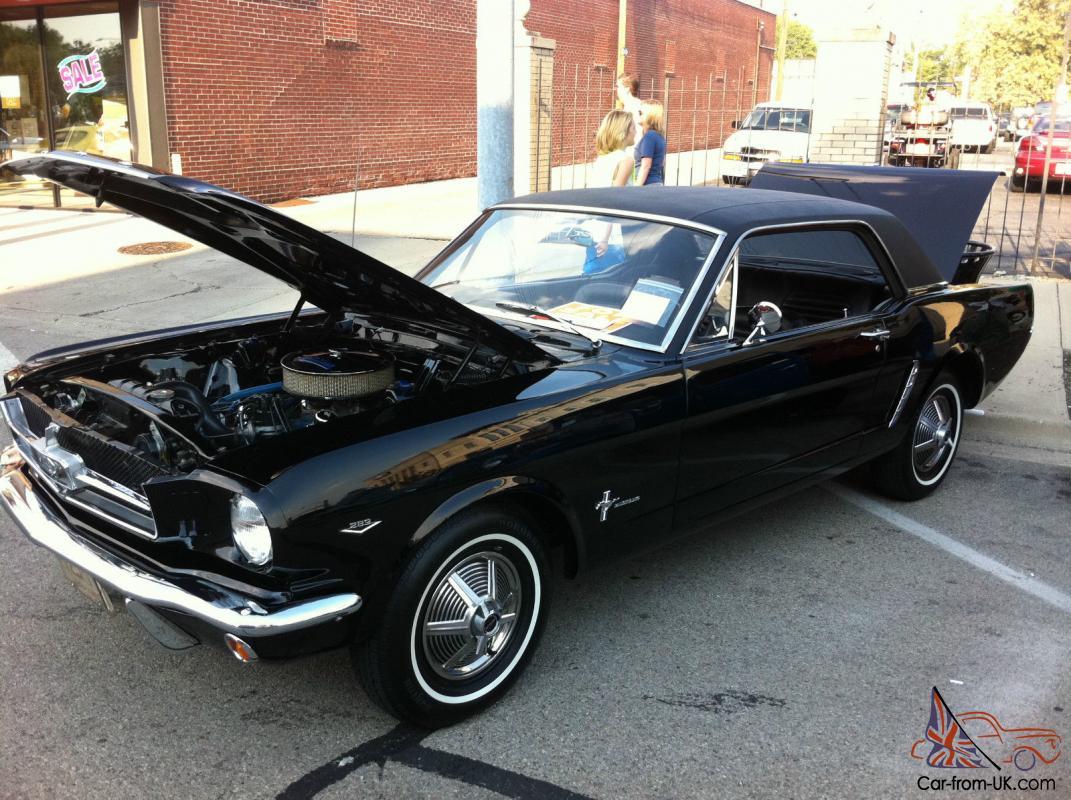 Mustang Raven Black