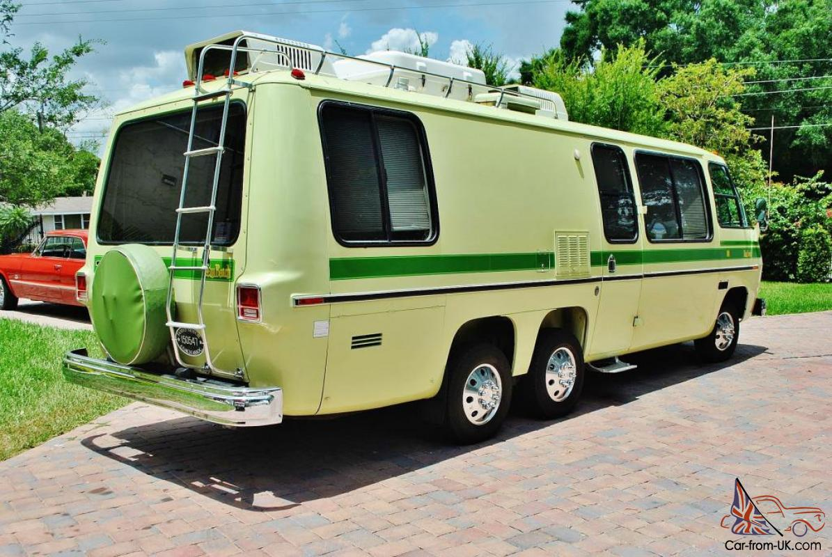 1976 Gmc Motor Home 2 Owner Just 61 308 Miles Original And Mint Its Scary New