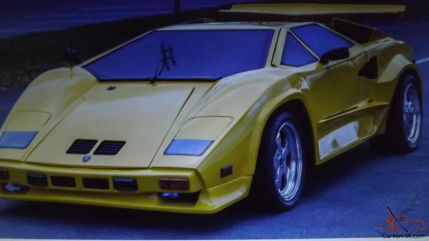 Lamborghini countach replica kit car