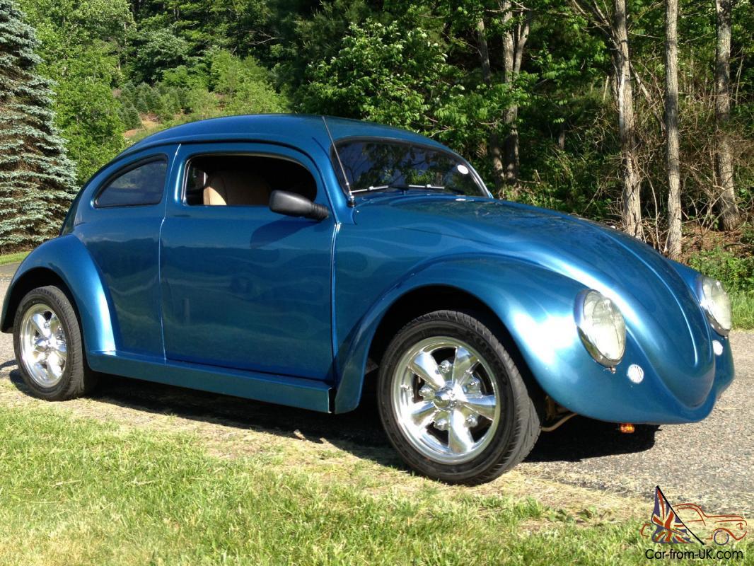 1964 Vw Beetle  Blue  6 U0026quot  Chop Top With Suicide Doors  Fun