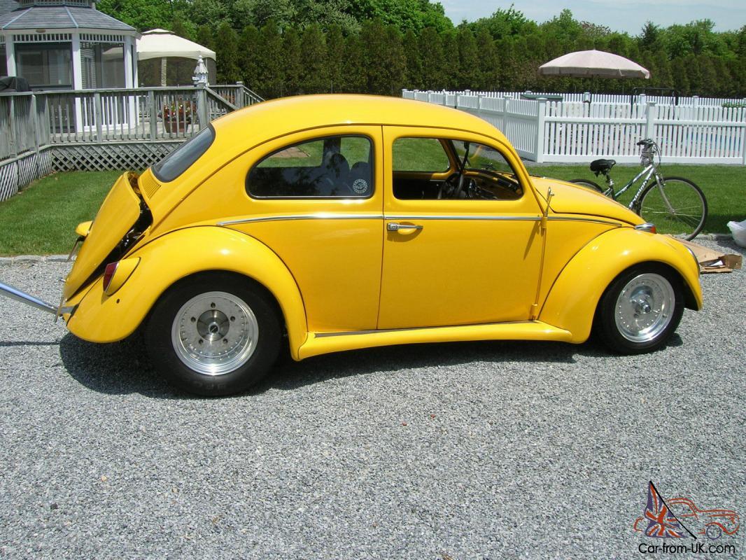 1964 Pro Street Volkswagen Beetle 2110cc Mint Corvette Yellow