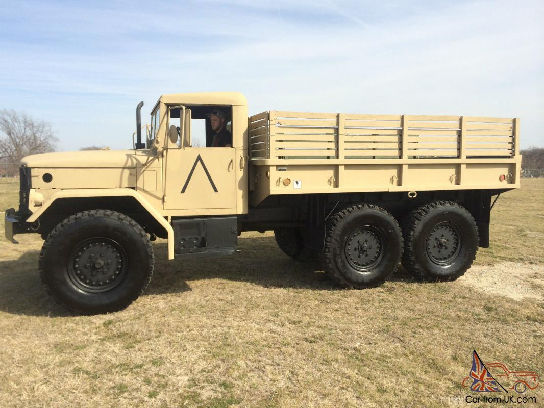 1972 M35A2 Deuce & Half Truck and M105A2 Trailer  Total Bug Out Package!