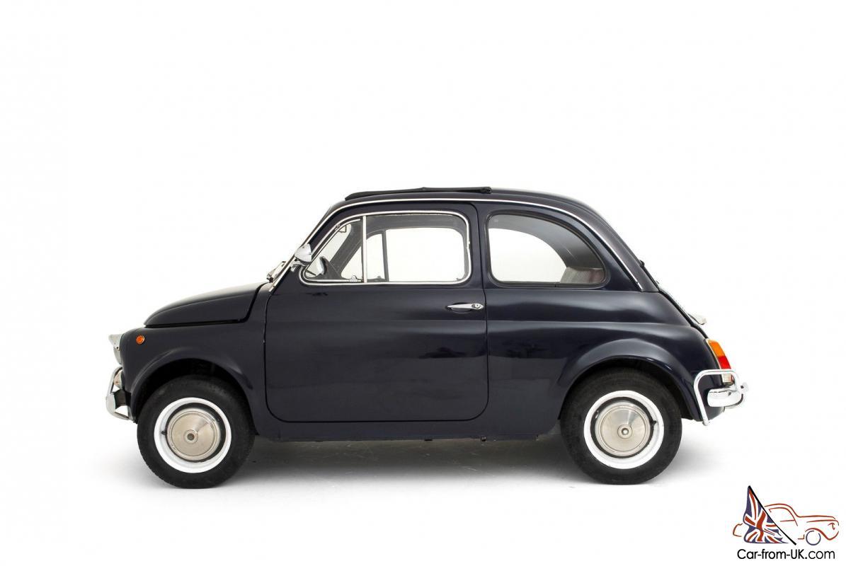 1970 Fiat 500 L Classic Vintage 500l Lusso Cinquecento Superb
