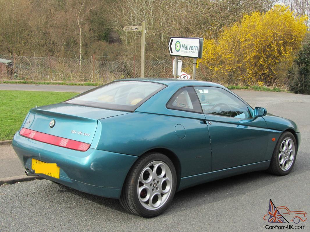1998 Green Alfa Romeo Gtv Coupe Series 1 3 Litre 24v V6