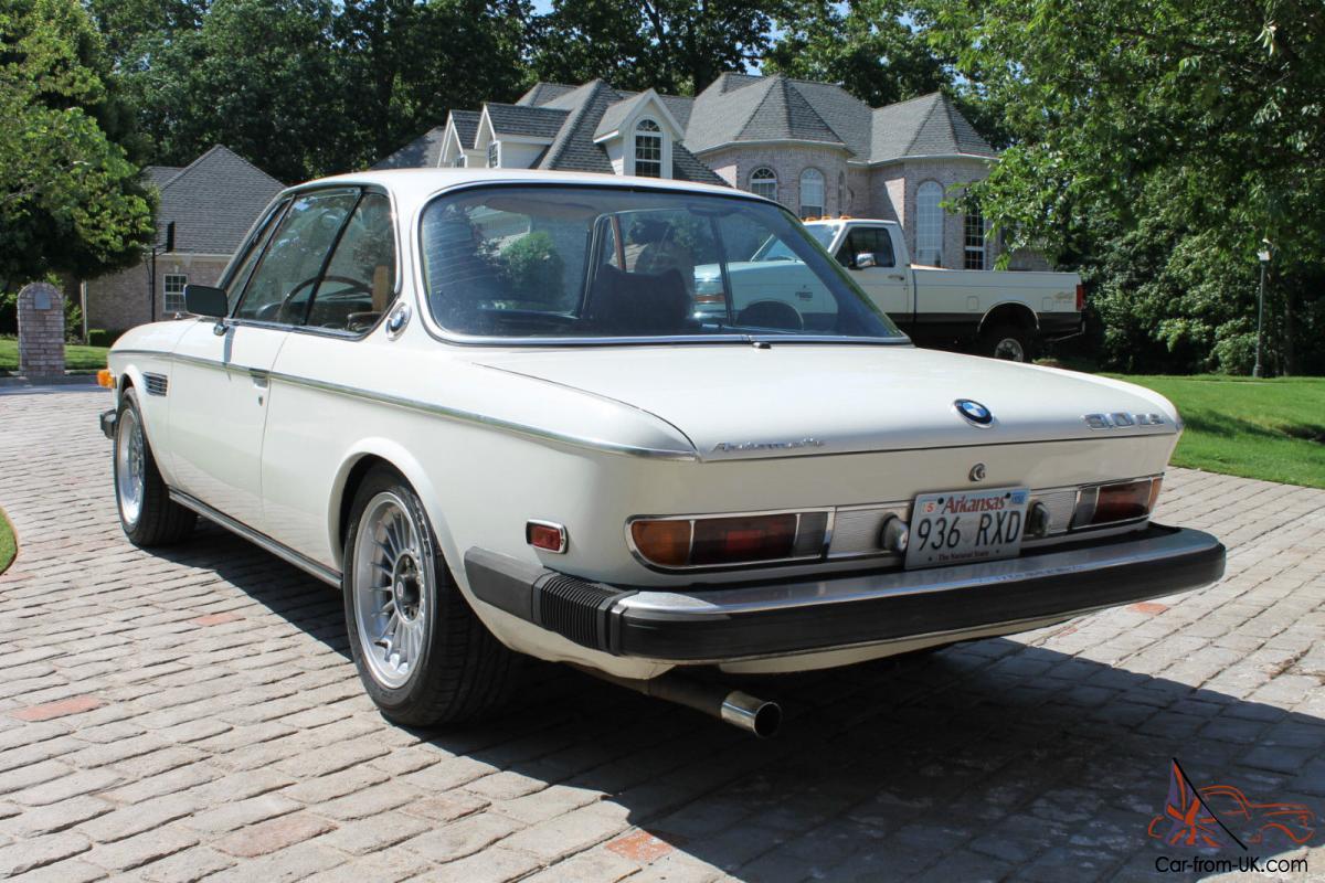 Bmw 3 0 Cs For Sale >> 1974 Bmw E9 3 0 Cs Coupe 3 5l Restomod