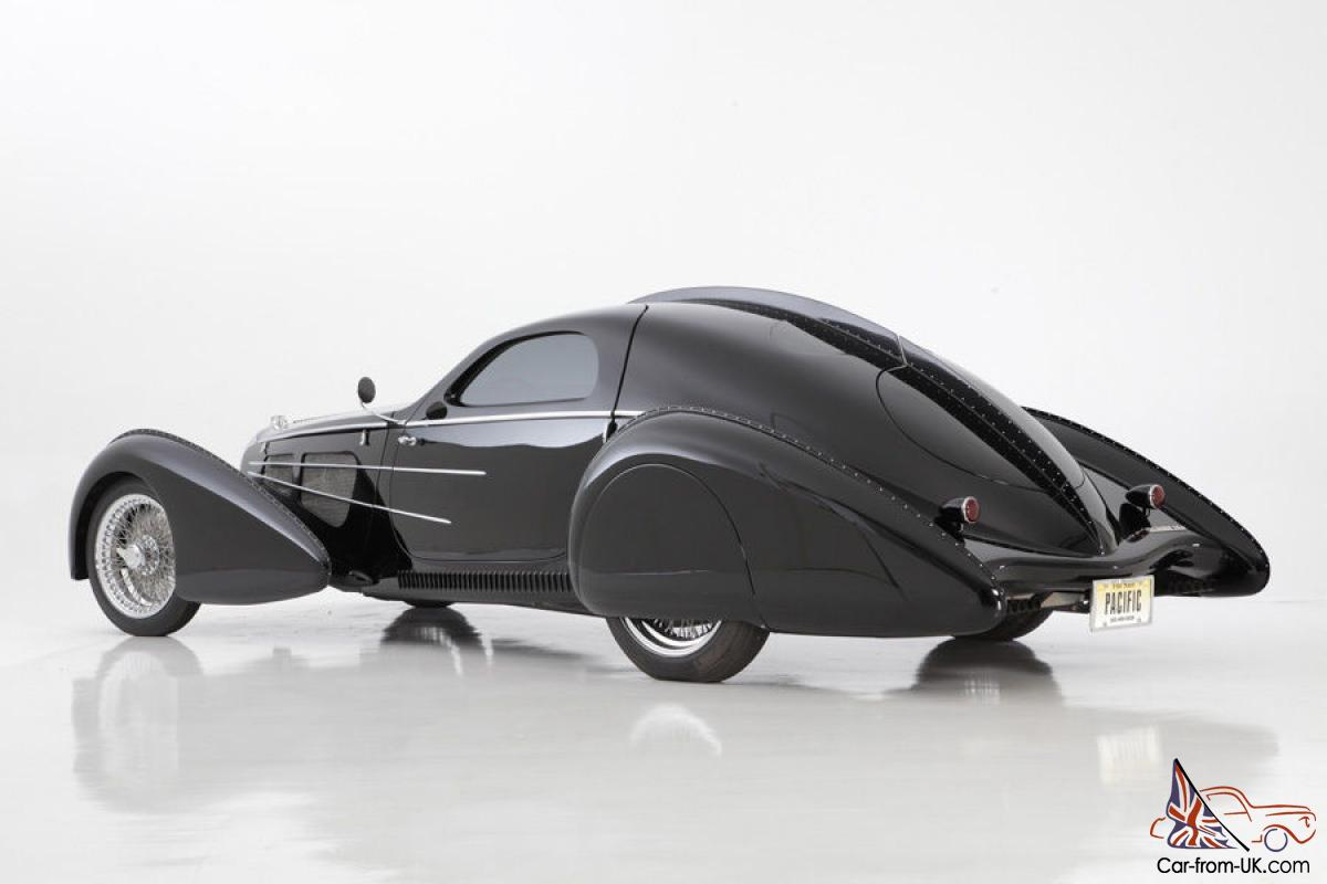 The Pacific 1937 Type 57sc Bugatti Atlantic Recreation