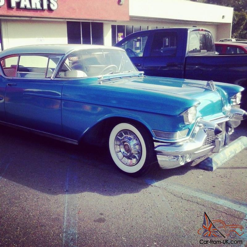 1957 Cadillac Coupe Deville 62 Series Hardtop 2dr