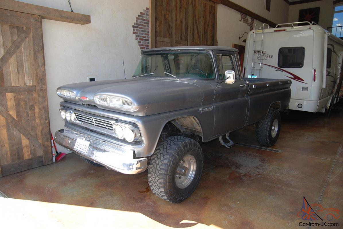 1960 Chevy Apache C20 The Grey Ghost