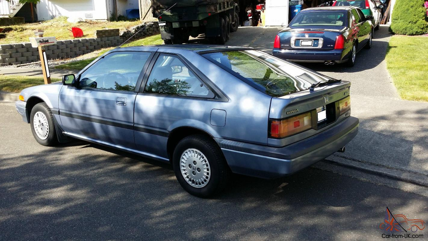 Honda Accord, 1986, blue/blue, 2 dr. hatchback, clean