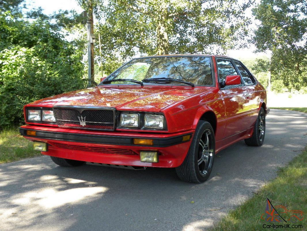 Maserati Biturbo For Sale >> 1987 Maserati Biturbo Si 5 Speed All Services Completed Excellent
