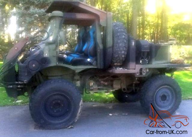 Unimog For Sale >> 1987 See Tractor Flu419 Mercedes Benz Unimog Only 200 Miles