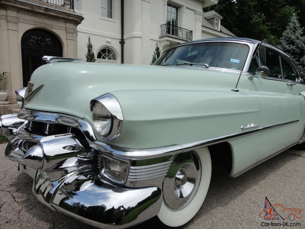 1953 Cadillac Coupe Deville Nice Original southern Caddy ...