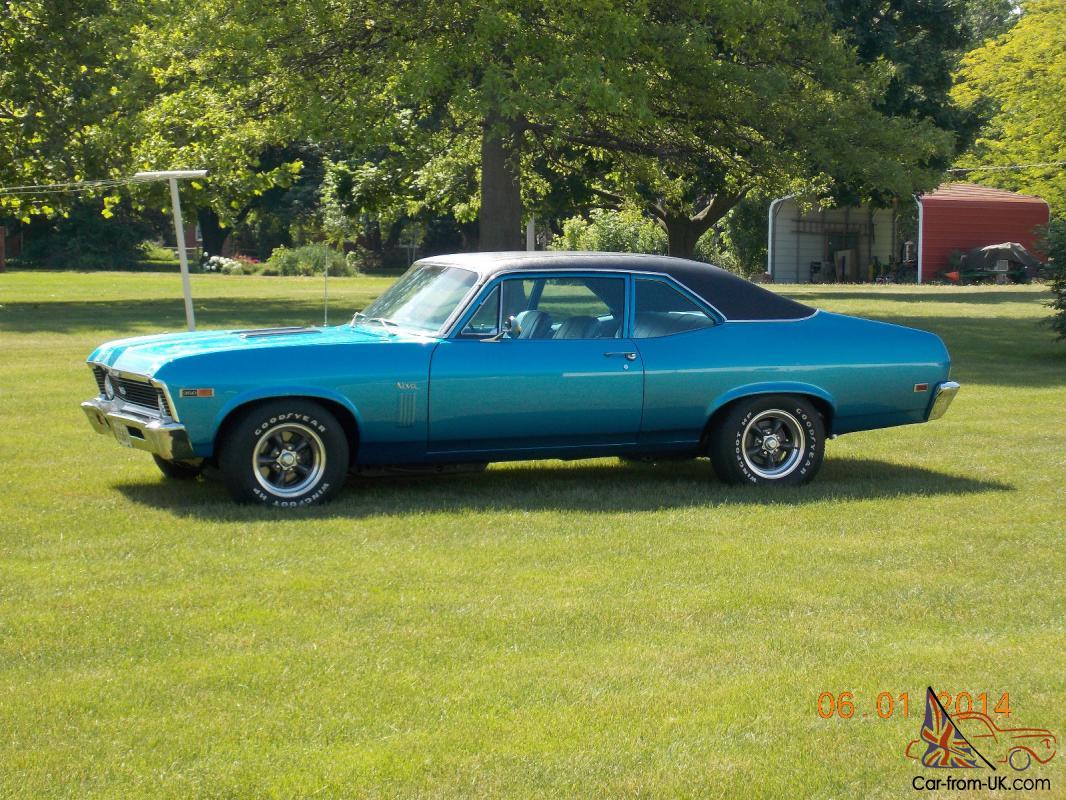 1969 Chevrolet Nova Ss 350 300