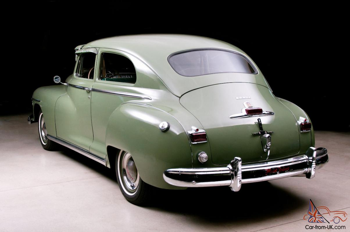1948 Dodge  3 Owners  Documented  Survivor  Unrestored  Mechanically Sorted