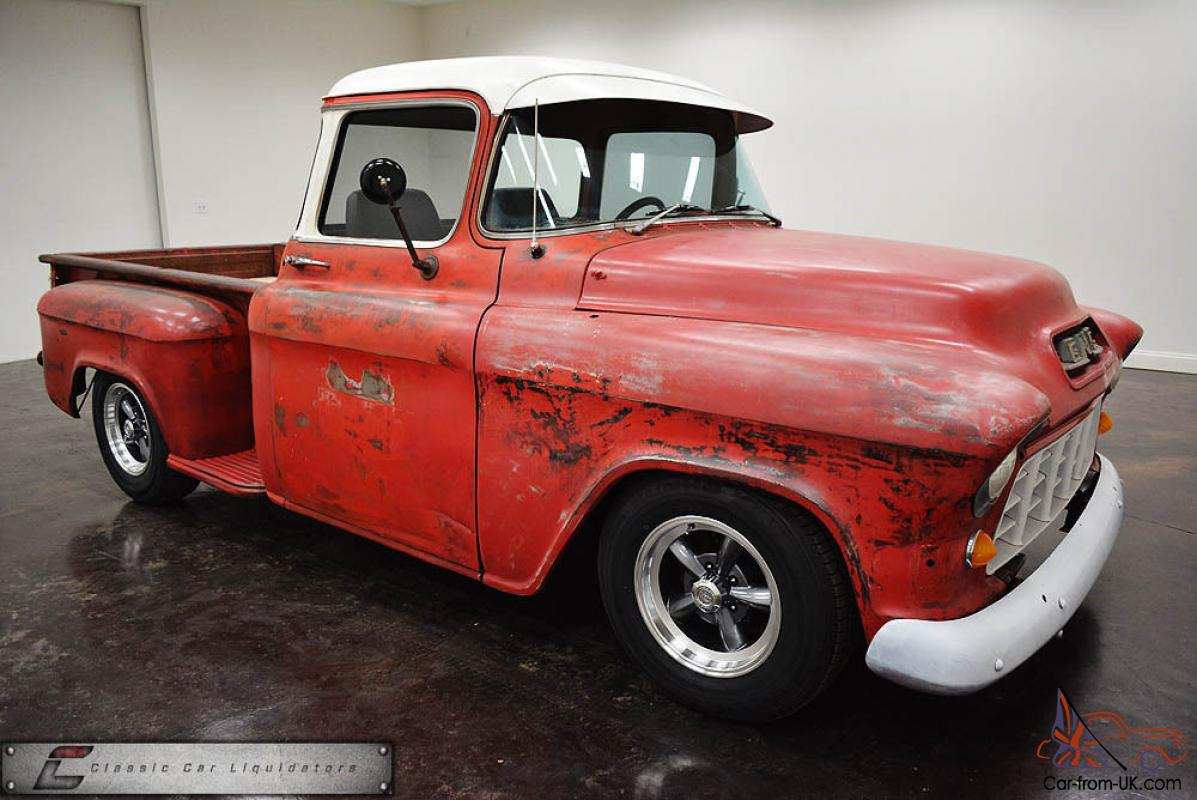 Truck 56 chevy truck : GMC Big Window Pickup Rat Rod Cool Truck!!!