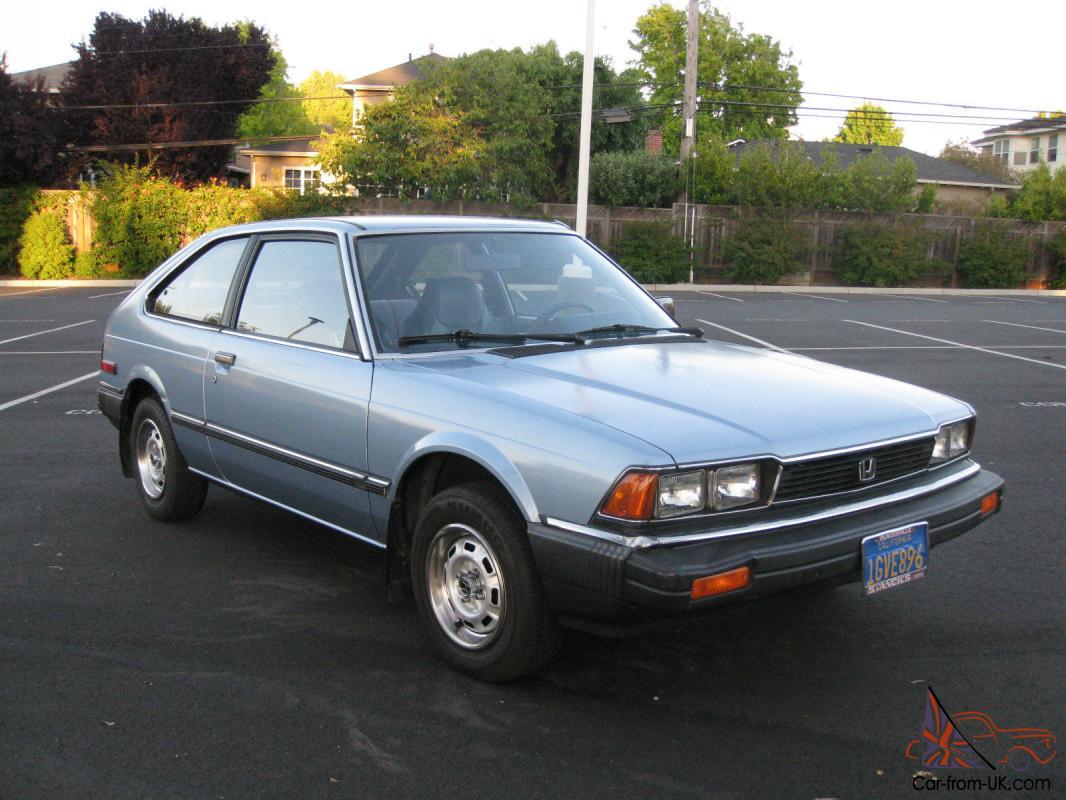 1983 Honda Accord - 89,000 Miles - Great Condition
