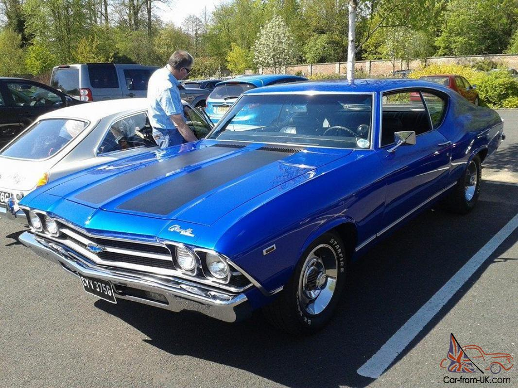 Chevrolet Chevelle Lt1 1969 Not Dodge Buick Plymouth