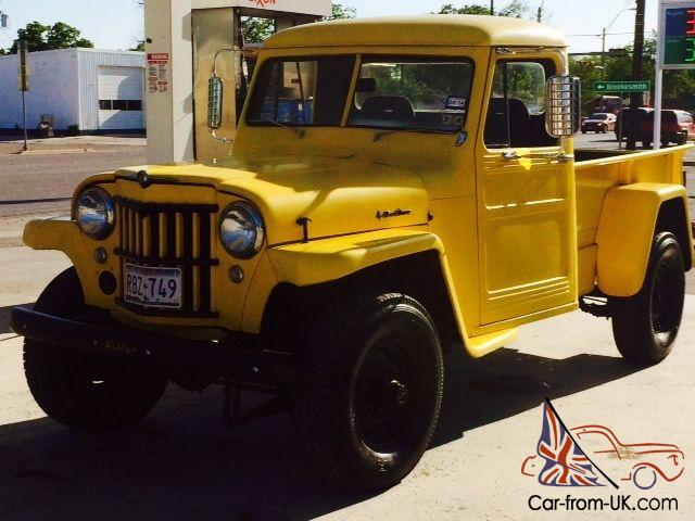 Willys Jeep Truck For Sale >> 1959 Willys Jeep Truck Base 3 7l