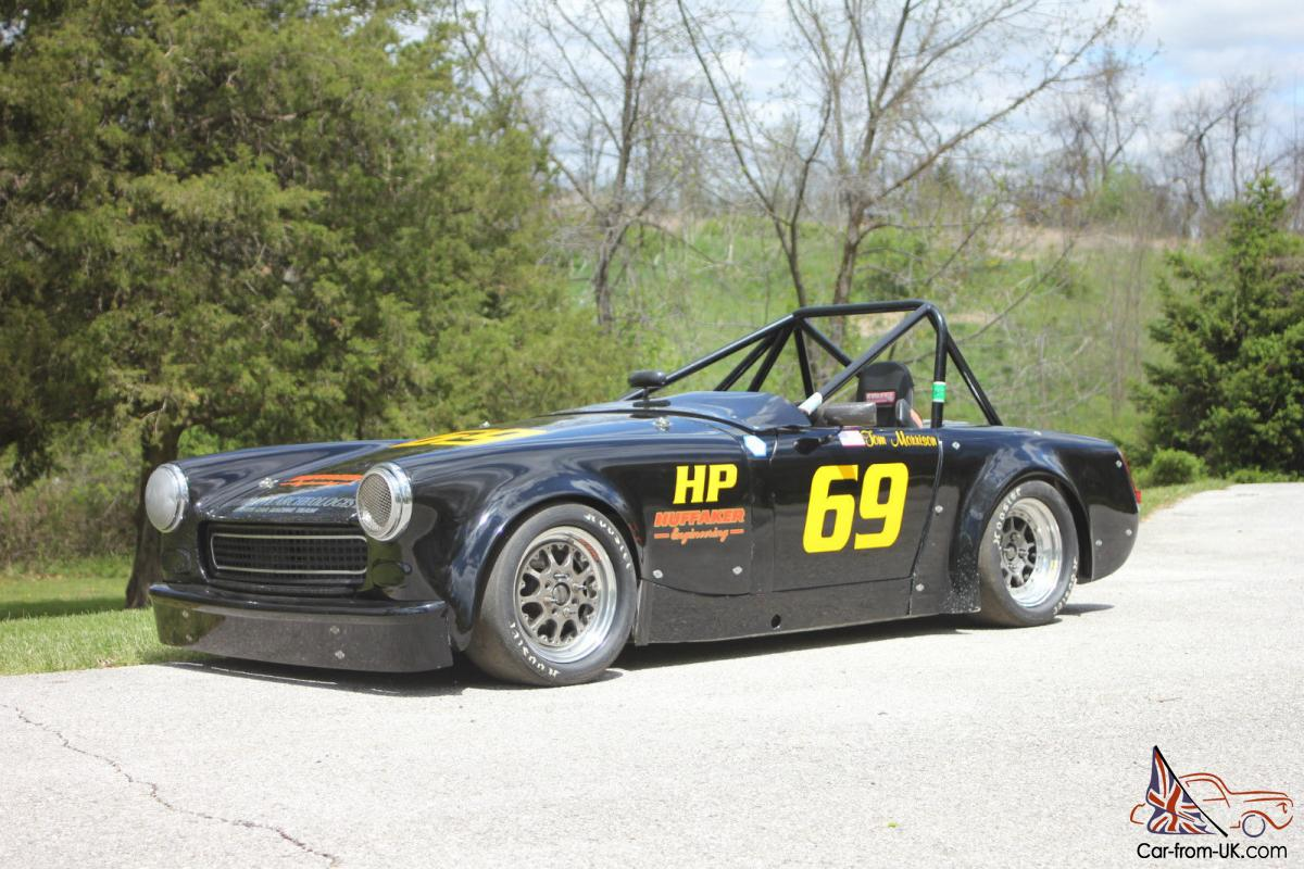 Huffaker Midget Scca Hp Fp Road Race Car Mg Midget Spridget Sprite