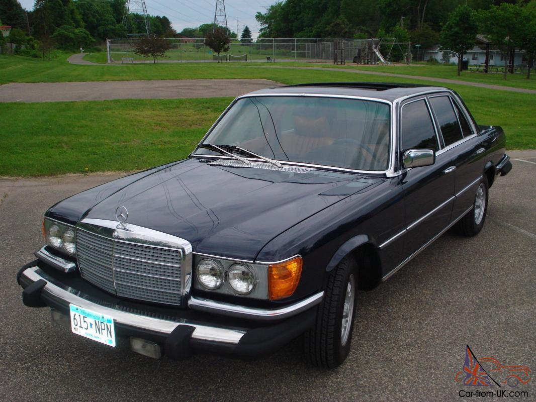 1979 Mercedes Benz 300sd Rare W116 Turbo Diesel 78k