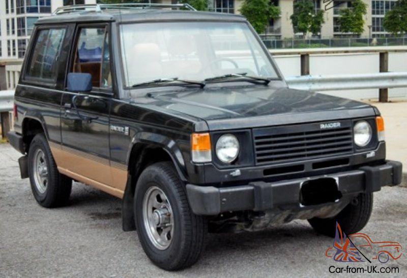 Dodge Raider For Sale >> 1988 Dodge Raider Same As Mitsubishi Montero