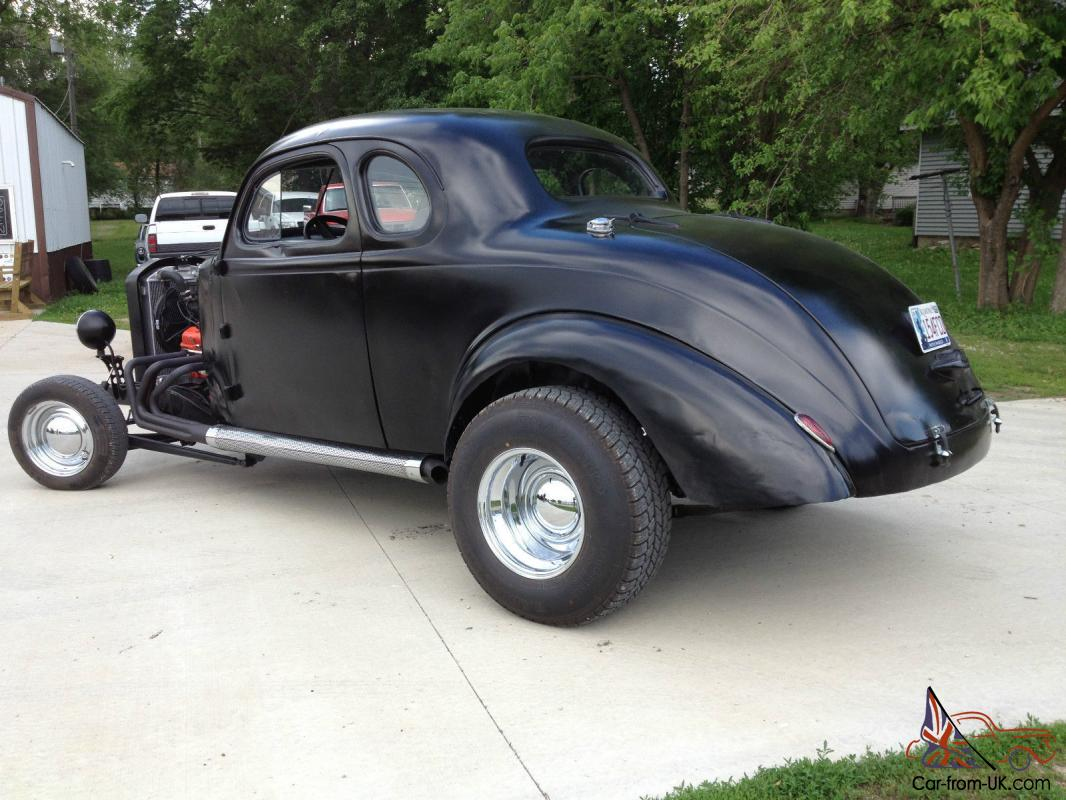 A 1939 Plymouth Business Coupe model a rat rod street rod sedan RUNNER  DRIVER