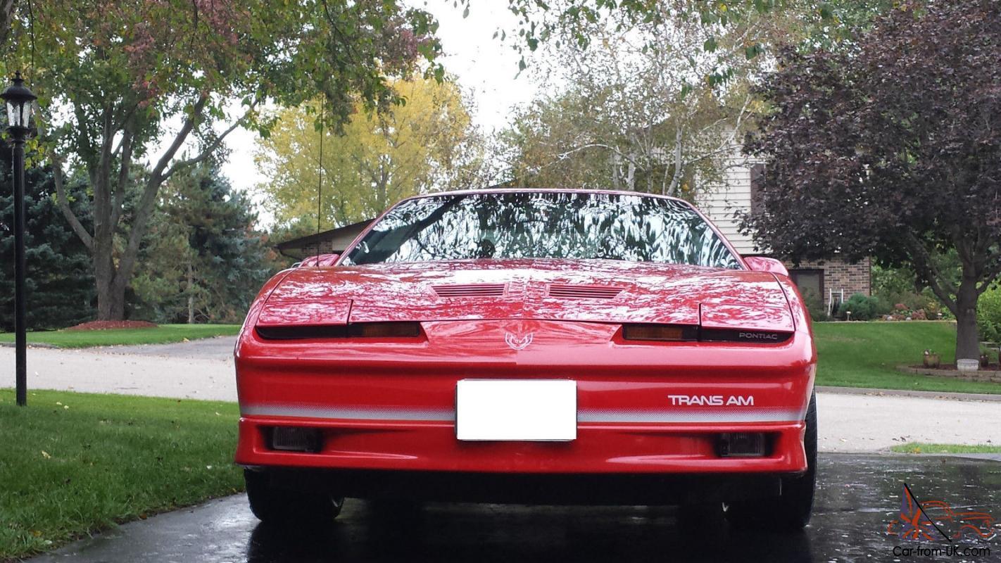 1986 trans am firebird car from uk com