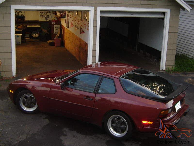 1986 Porsche 944 Turbo 951 Project Car Garnet Red Great Condition